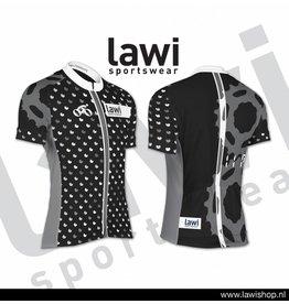 Elfmerentocht fietsshirt (grijs design)