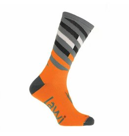 90112 - Bike socks long Relay fluor orange
