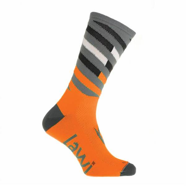 90112 - Bike socks long Relay fluor orange