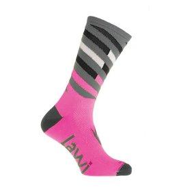 Bike socks Long Relay fluor pink