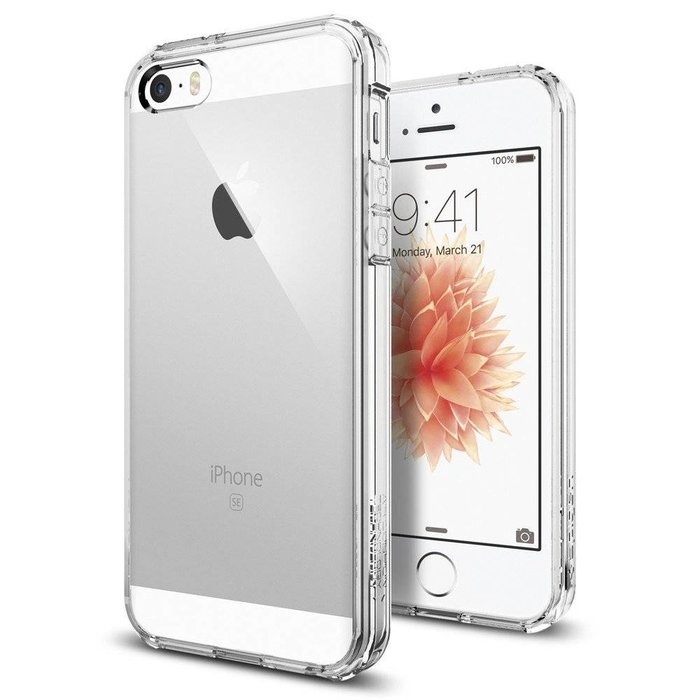 iPhone SE/5S/5 Case Ultra Hybrid - Crystal Clear