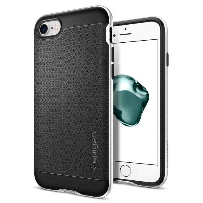 iPhone 7/8 Case Neo Hybrid - Satin Silver