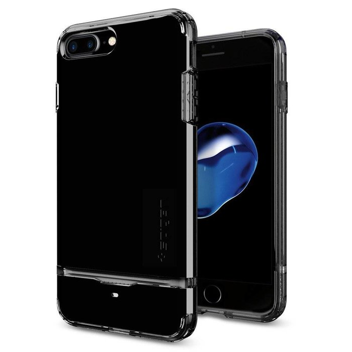 iPhone 7/8 Plus Case Flip Armor - Jet Black