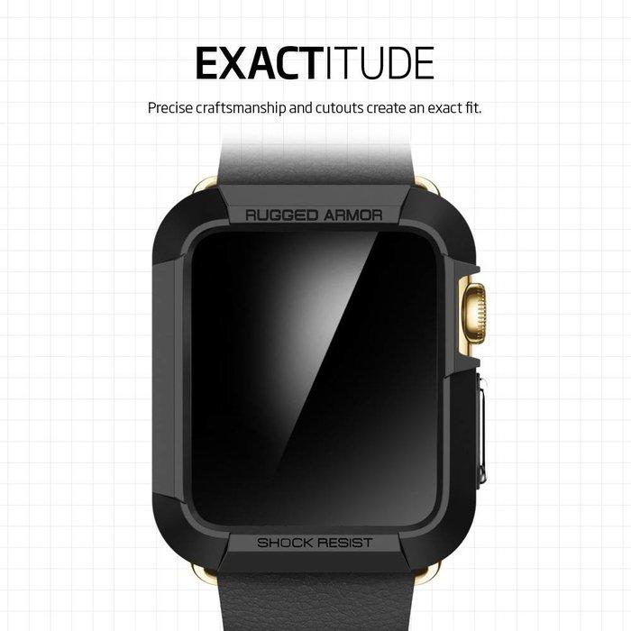 Apple Watch (42mm) Rugged Armor - Black