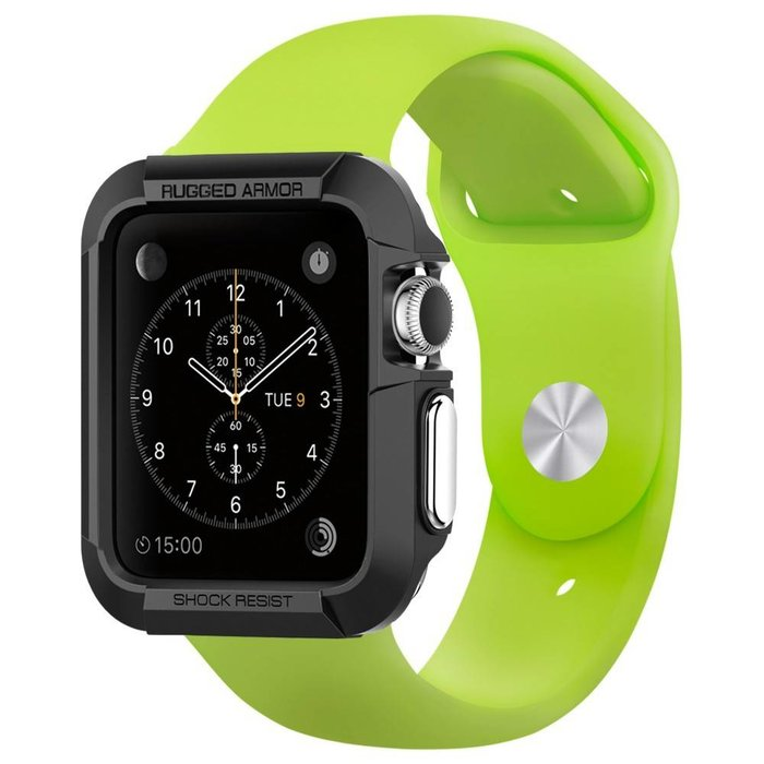 Apple Watch (42mm) Rugged Armor - Black