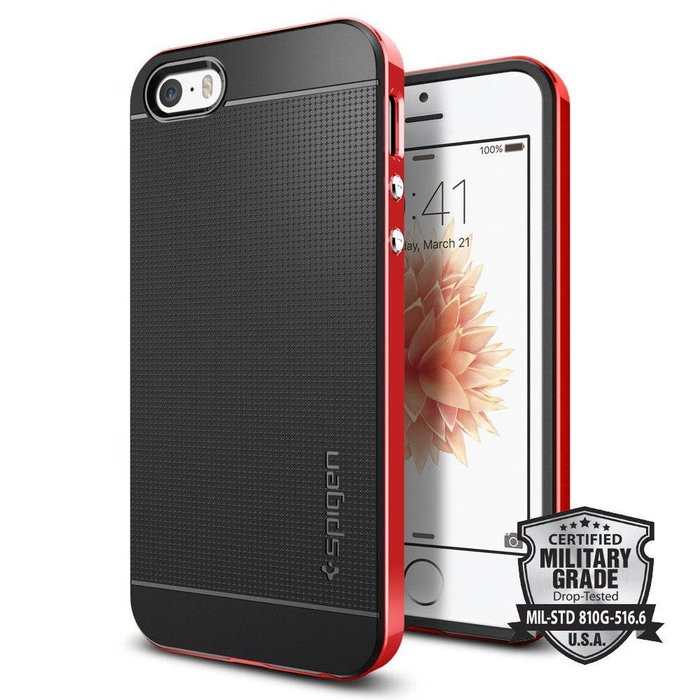 iPhone SE/5S/5 Case Neo Hybrid - Dante Red