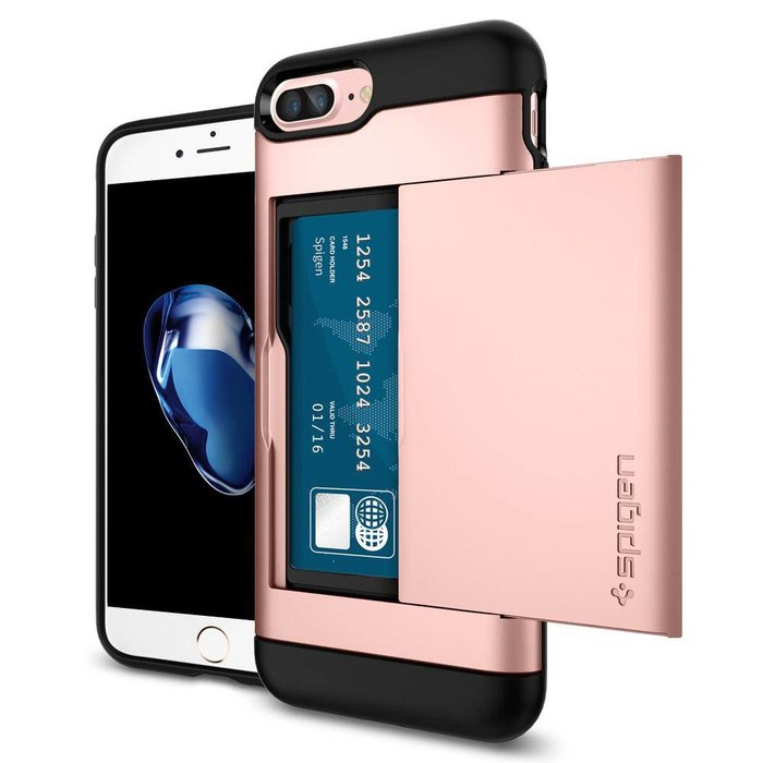 iPhone 7/8 Plus Case Slim Armor CS - Rose Gold