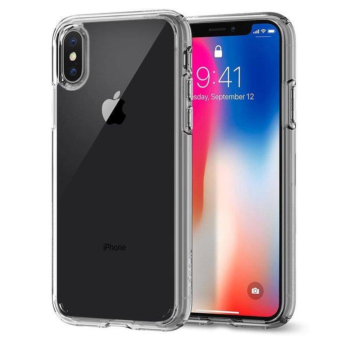 iPhone X Case Ultra Hybrid - crystal clear