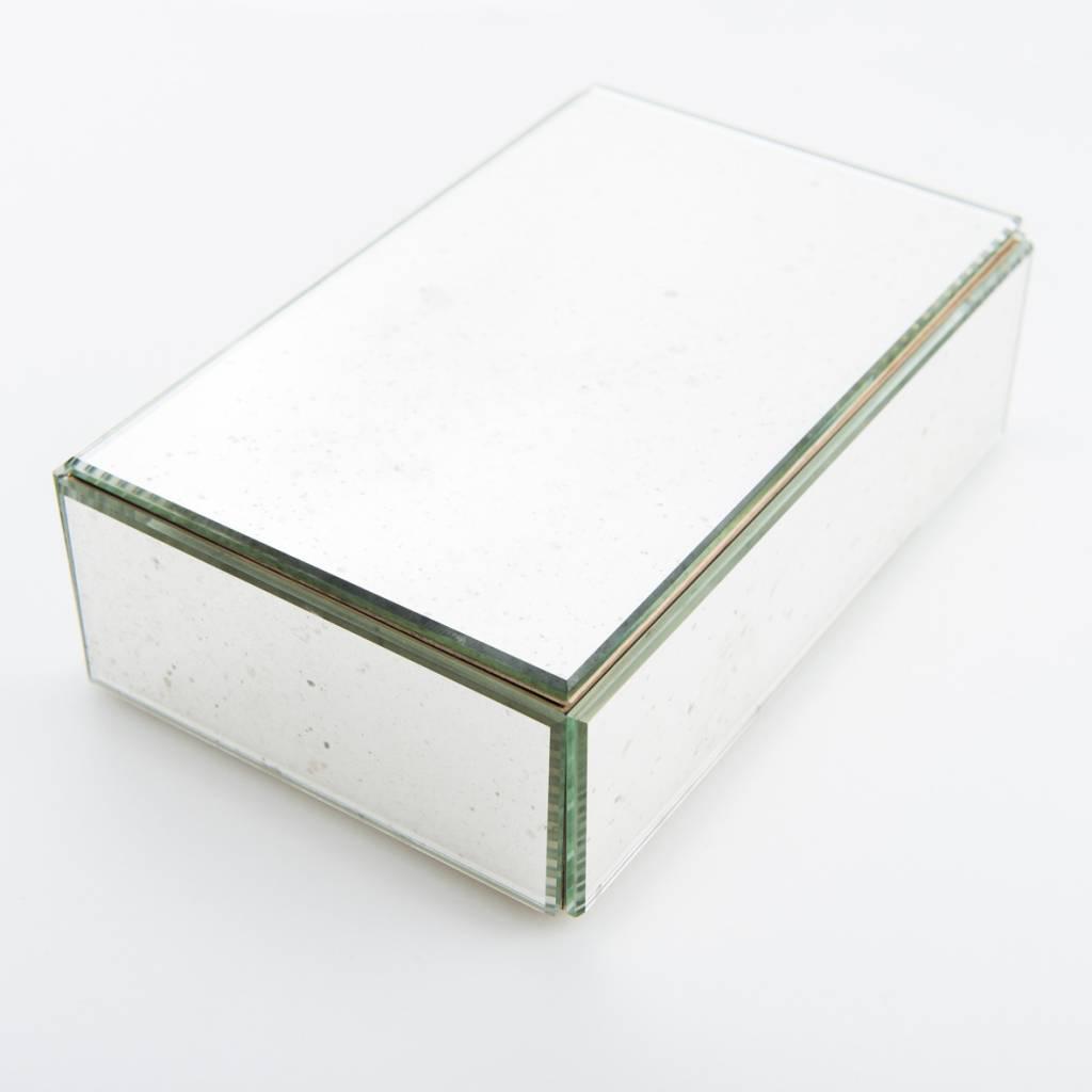 Antique Mirror Antique Silver Mirror Jewelry Box