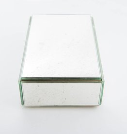 Antique Mirror LAST ITEM - Silver Box
