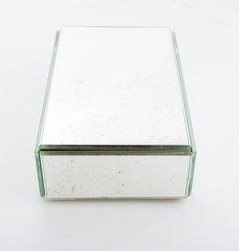 Antique Mirror Silver Mirror Box