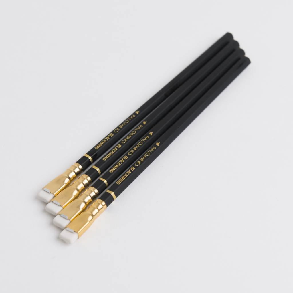 Palomino Blackwing Pencil Matte Black White Eraser