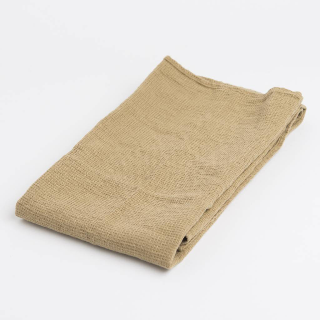 Linge Particulier  Linge Particulier Towel / Swaddle Curry Washed Linen 60 x 100 cm