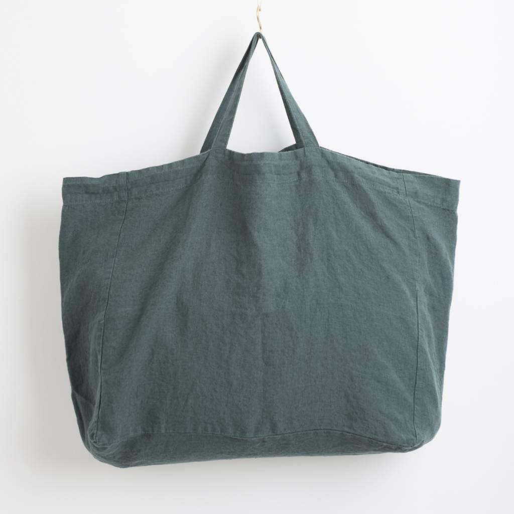 Linge Particulier  Linge Particulier Medium Bag Copper Washed Linen