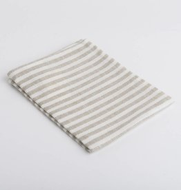 Fog Linen  Striped Dishtowel