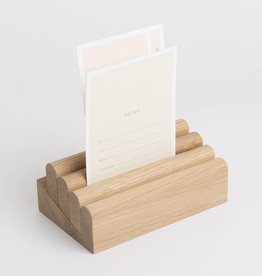 Karimoku New Standard Oak Card Stand L