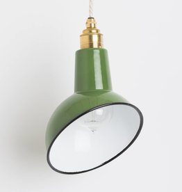 Nook London Enamel Miniature Angled Cloche Lamp