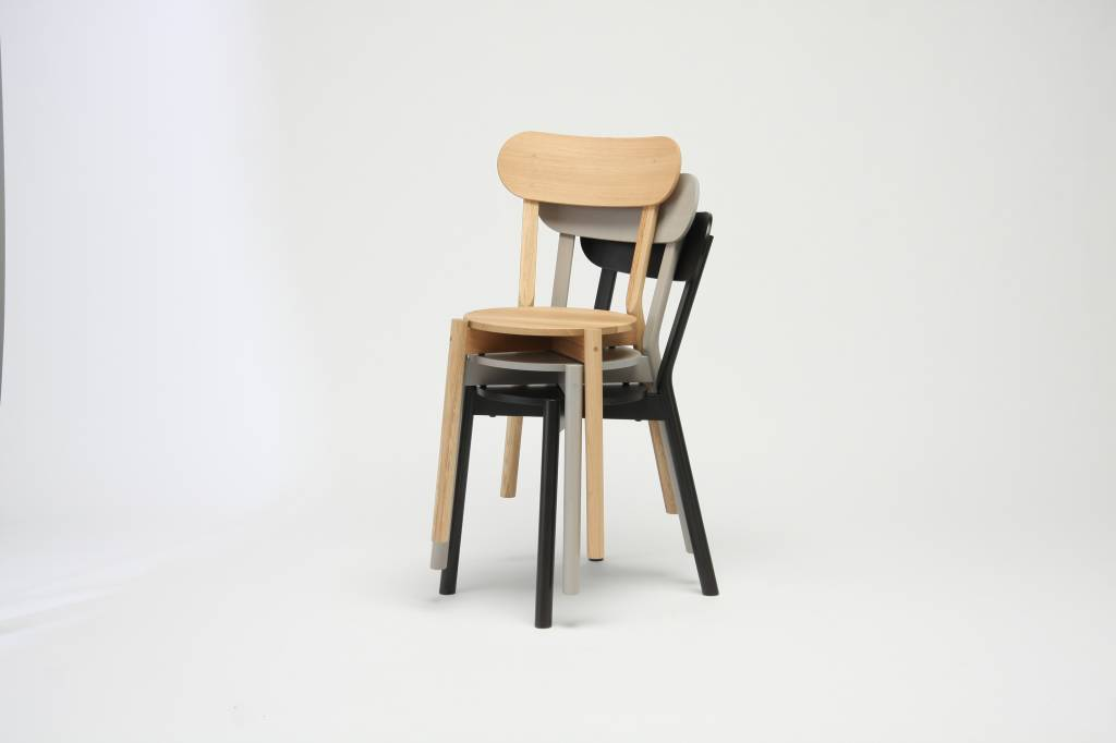 Karimoku New Standard Karimoku New Standard Oak Castor Chair