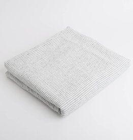 Linge Particulier  Tablecloth White & Black L