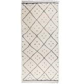 Mums Mums Cream & Black Thick Woolen Carpet
