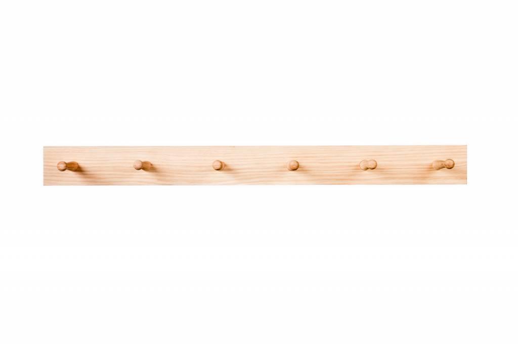 Oak Peg Rail 80 cm
