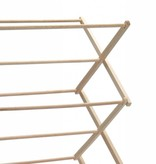 Traditional Beechwood Folding Clothes Drying Rack