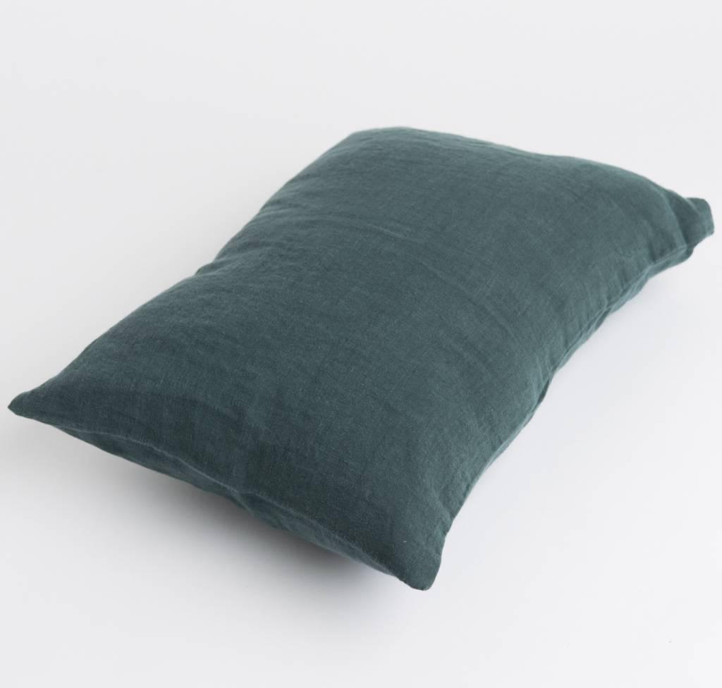 Linge Particulier  Linge Particulier Cushion Cover Cedar Washed Linen 50 x 70 cm