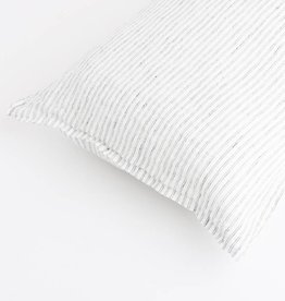 Linge Particulier  Cushion Cover Noisette / White  Stripes