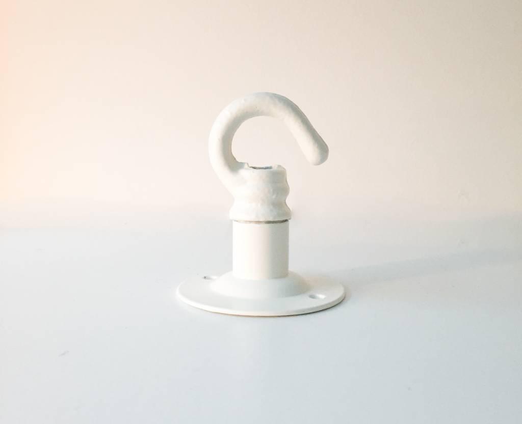 Nook London Industrial Ceiling Hook White