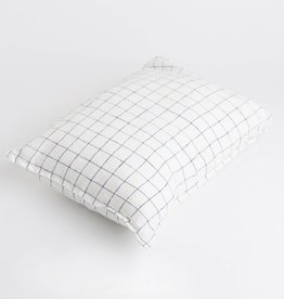 Linge Particulier  Cushion Cover 65 x 65 cm XL Navy & White Checks