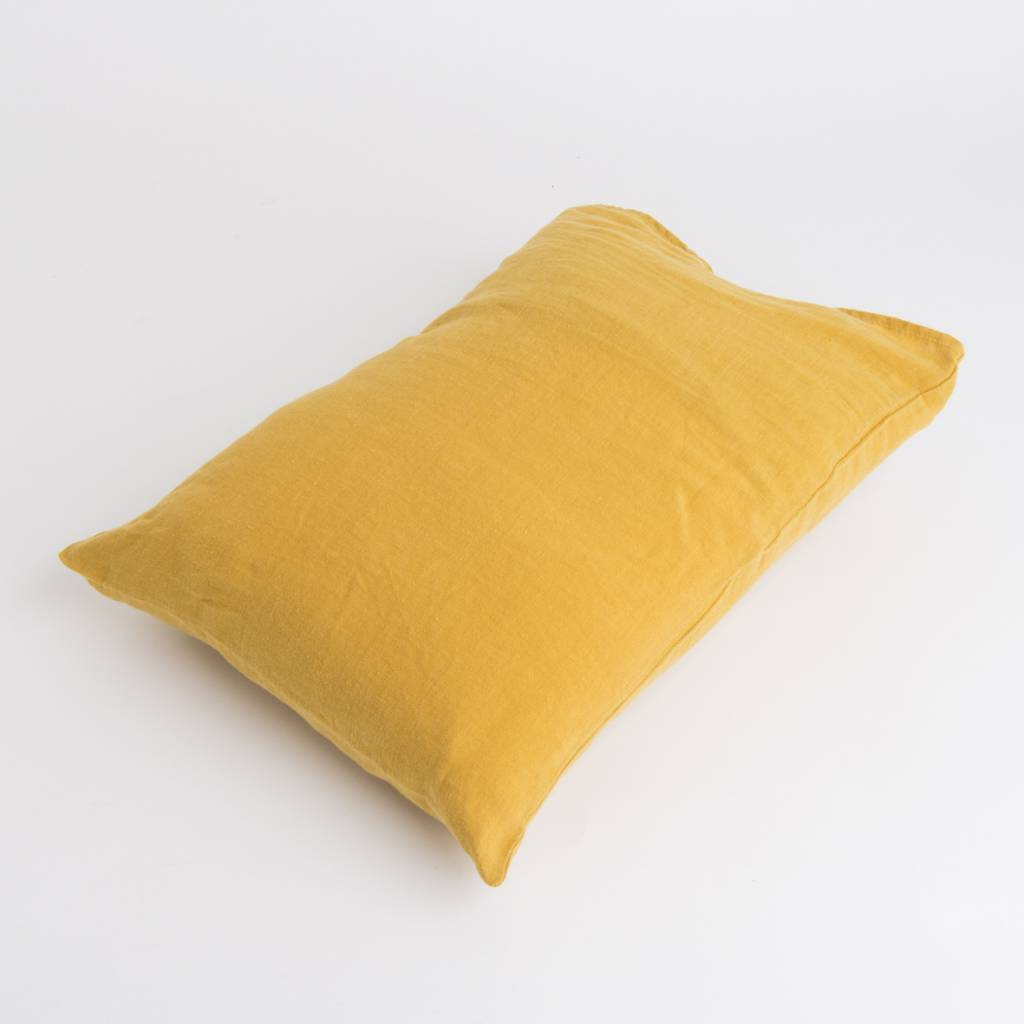 Linge Particulier  Linge Particulier Cushion Cover Honey Washed Linen 50 x 70 cm