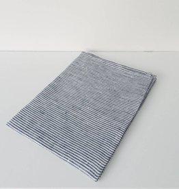 Fog Linen  Navy & White Striped Dishtowel