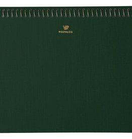 Postalco Notebook A5 Bank Green