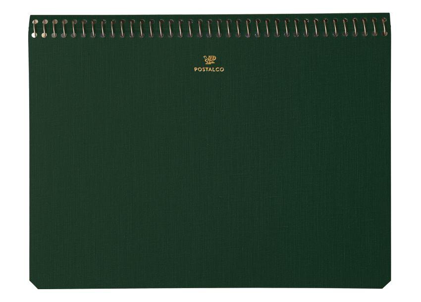 Postalco Postalco A5 Pingraph Notebook Bank Green