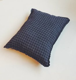Linge Particulier  Cushion Cover Black Check