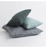 Linge Particulier  Linge Particulier Cushion Cover Blue grey Washed Linen 30x40 cm