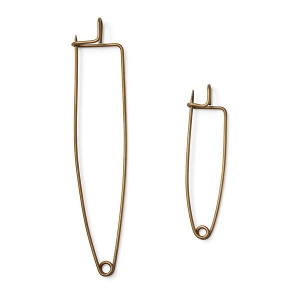 Fog Linen  Fog Linen Brass Cloth Pin Large