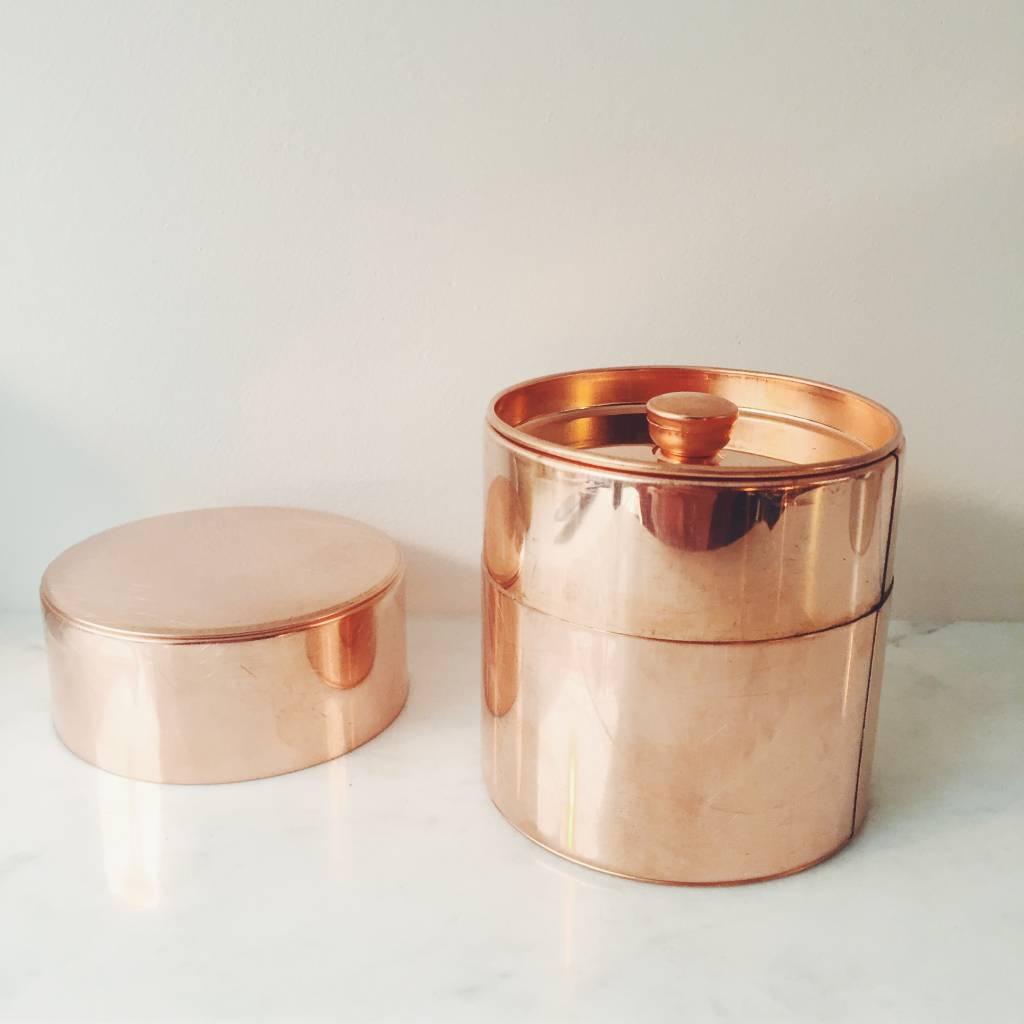 SyuRo Copper Tea Canister
