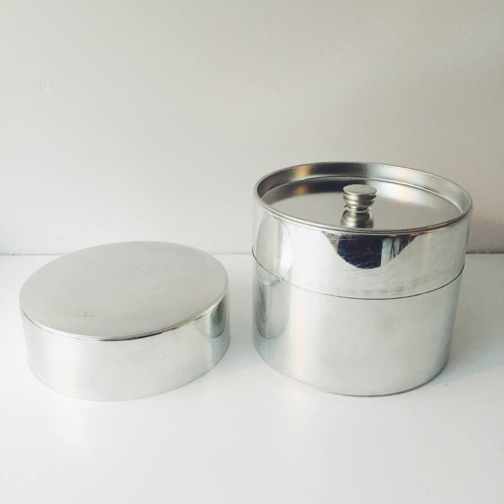 SyuRo Large Tin Tea Canister