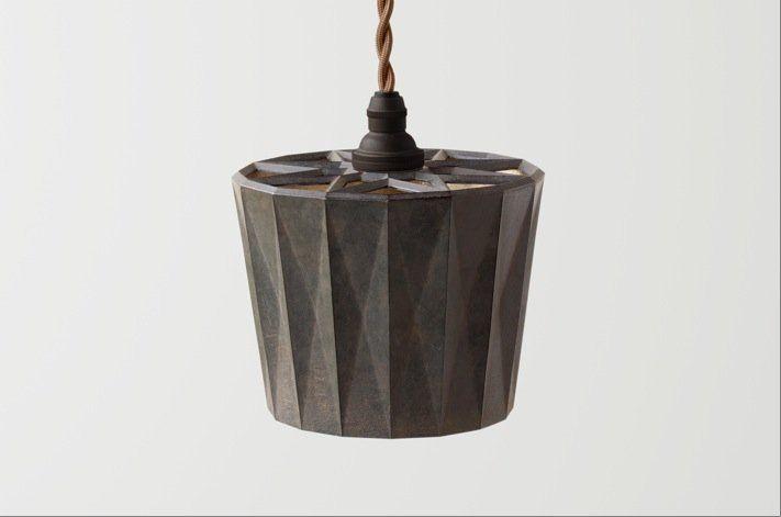 Futagami Futagami Brass Kuro Mura Star Shadow Pendant Lamp (dia 135 x h 110 mm)