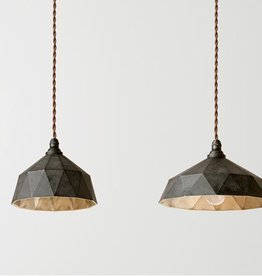 Futagami Brass Pendant Lamp Kuro Mura