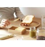 Futagami Futagami Silver & Brass Butter Knife