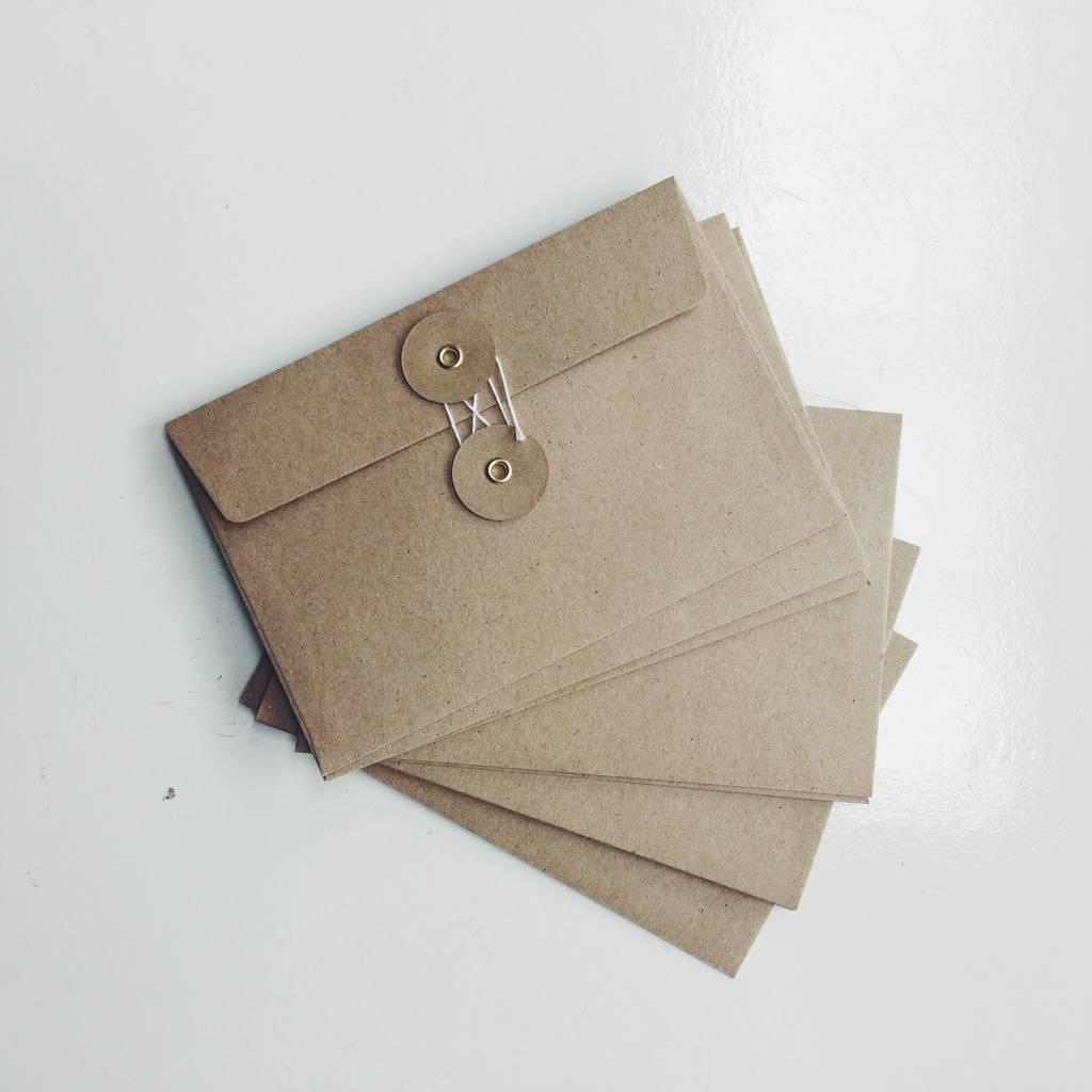 Midori Kraft Envelopes M