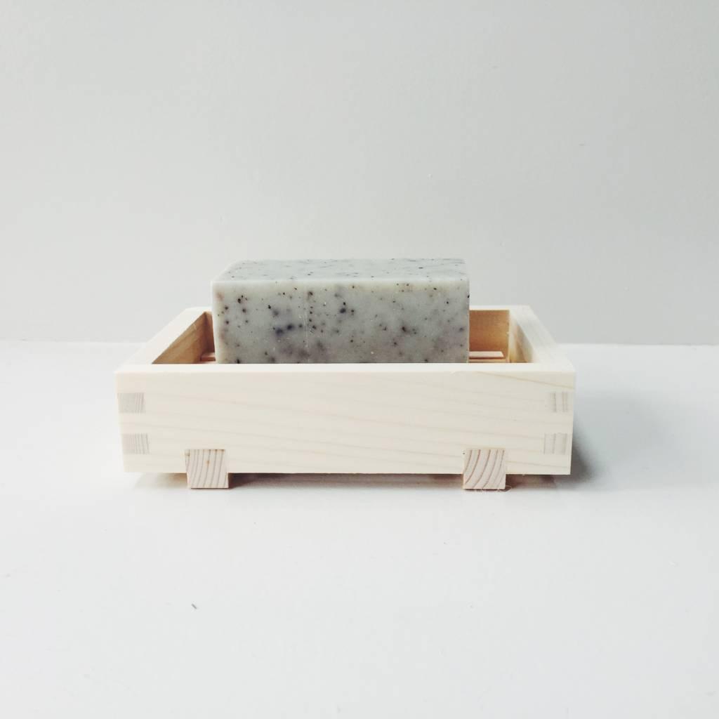 Japanese Hinoki Wood Soap Dish