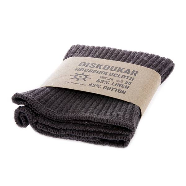Iris Hantverk Iris Hantverk Graphite Cotton & Linen Dish Cloth