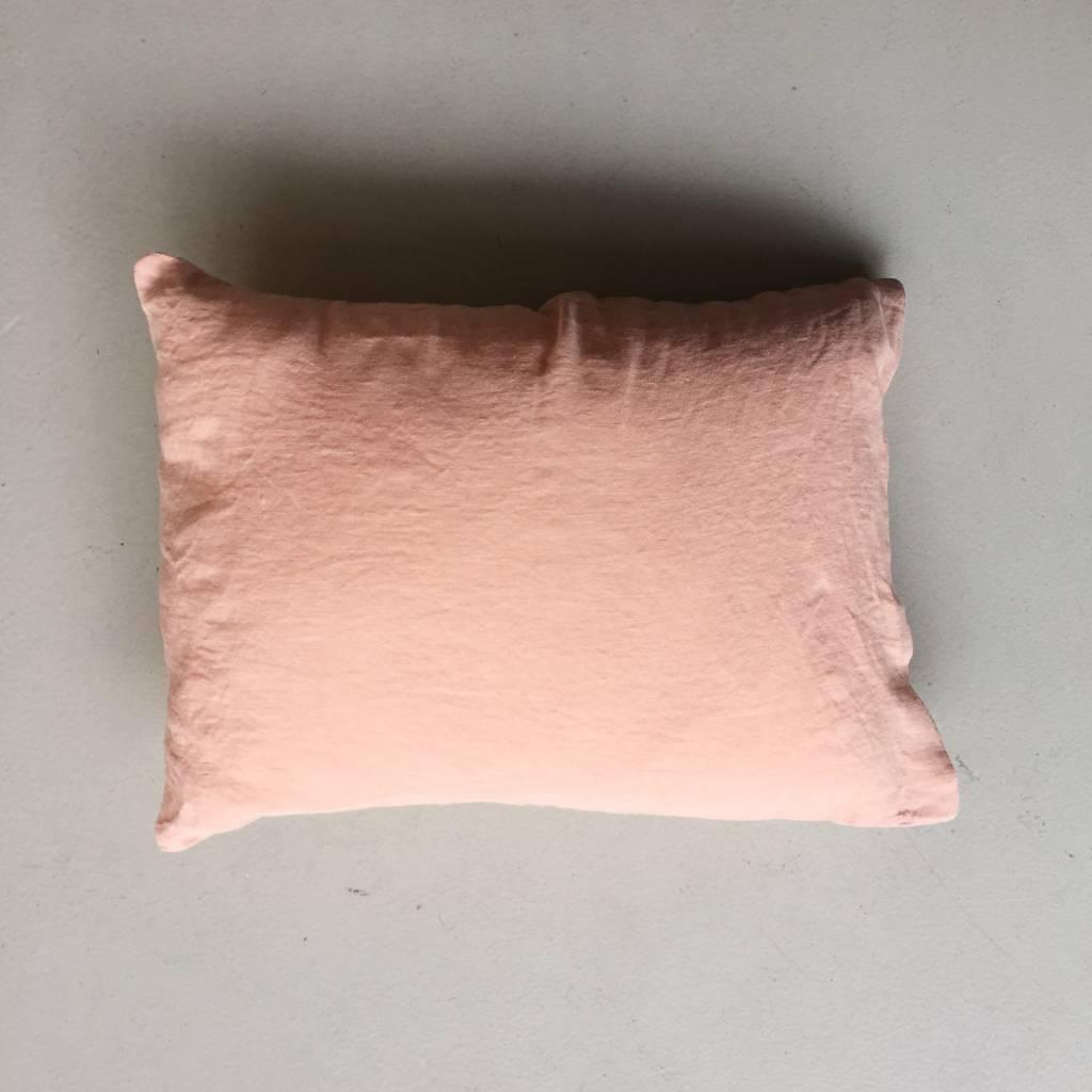 Linge Particulier  Linge Particulier Cushion Cover Copper Washed Linen 50 x 70 cm