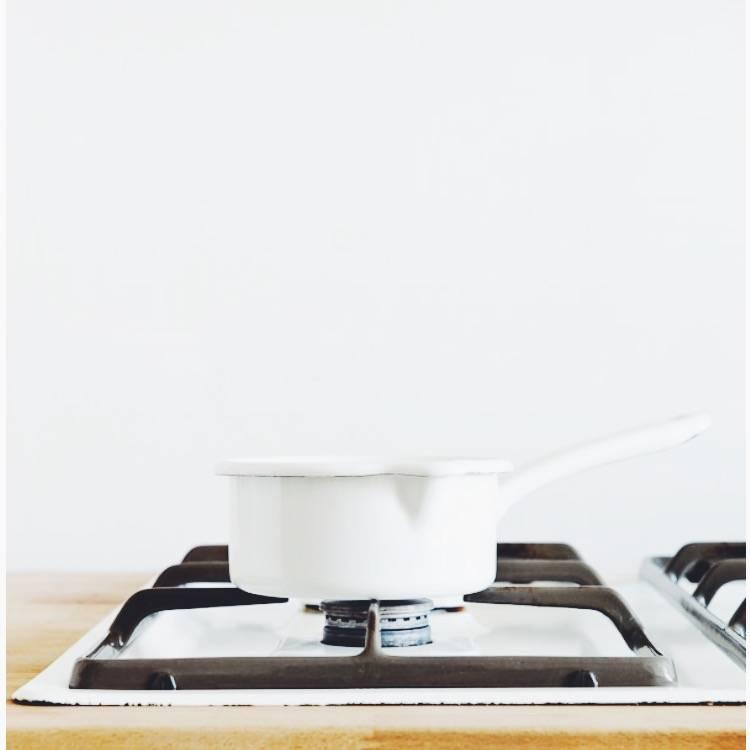 Riess Riess White Enameled Pan 0,75 ltr.
