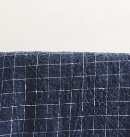 Linge Particulier  Tablecloth Black Check L