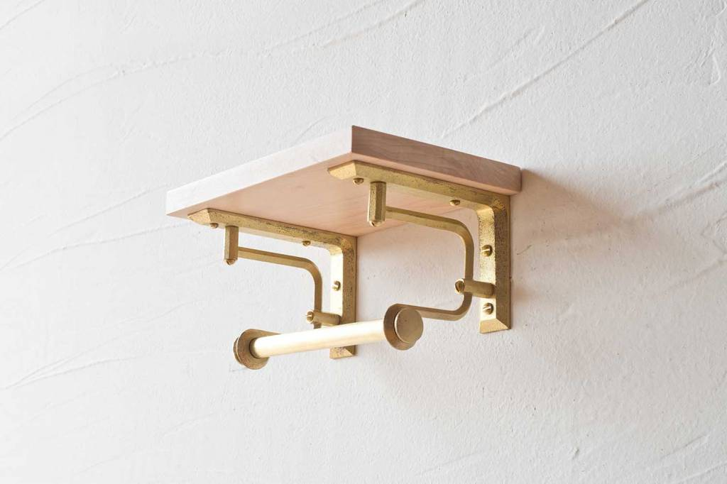 Futagami Futagami Matureware Brass Paper Holder Short