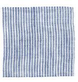 Linge Particulier  Linge Particulier Cushion Cover Blue Thin Stripe Linen 65 x 65 cm